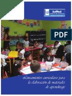 Lineamientos Materiales de Aprendizaje 2012