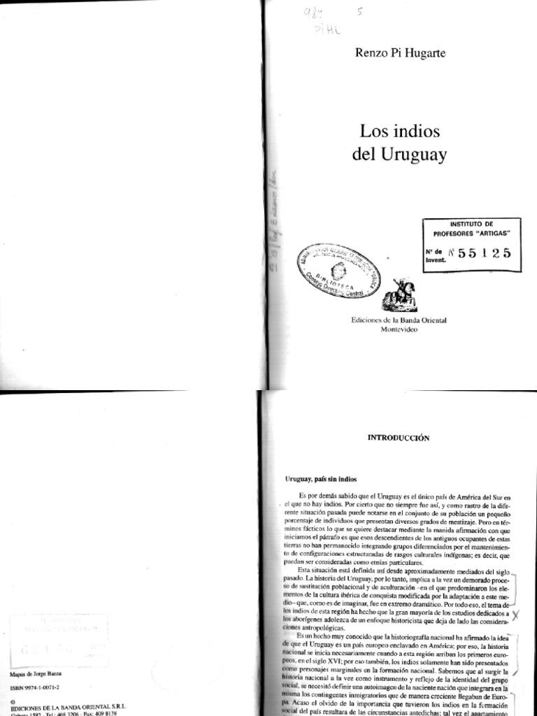 Renzo Pi Hugarte Los Indios Del Uruguay
