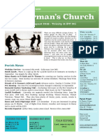 st germans newsletter - 18 august 2019 - trinity 9