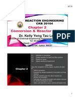Chapter 2 Conversion & Reactor Sizing