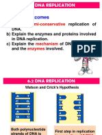6.2 DNA Replication Full Note
