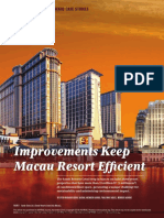 Improvement on Macau Resort