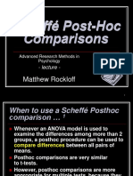 14d Scheffe Post-Hoc Comparisons Overhead