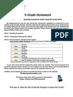 fd hw schedule   contact info
