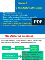 Module 1_Introduction to Manufacturing Processes
