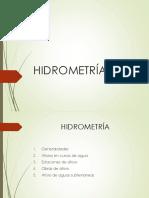 Hidrometría