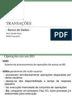 10 - TRANSAÇÕES