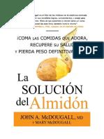● Solucion del almidon