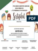 sertifikat dokcil