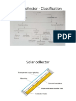 Solar Collector and Measuring Devices