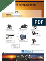 Jotron Phontech ICS6200 Component Options12-15 Mackayv01