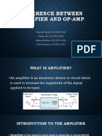 Difference between amplifier and op-amp.pptx