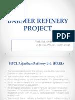 Barmer refinery
