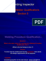 5 Welder Qualifications