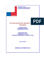Balance Hídrico Nacional Chile