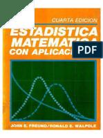 Estadistica Matematica con aplicaciones 4ta Edicion