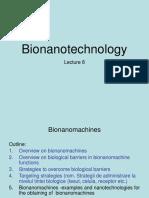 Bionanotechnology_curs8_2018