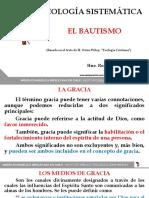 Teología Sistemática Bautismo