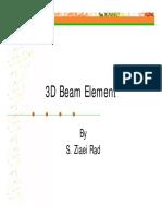 08-3d Beam Element
