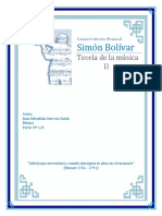 Teoria Conservatorio Simon Bolivar
