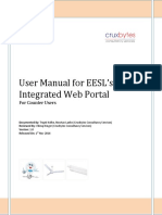 Counter User Manual for Integrated Software EESL v1 0