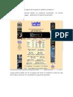 4. Practicas de mediciones con el Medidor de campo TV EXPLORER HD + PROMAX con ayuda Lyng Sat