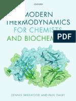 Modern Thermodynamics for Chemists & Biochemists