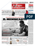 Il Fatto Quotidiano 17 Agosto 2019