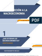 ¿Que estudia la Macroeconomia?