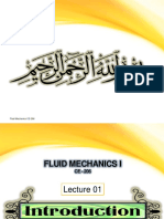 2. Intro to Fluid Mechanics