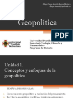 Unidad 1 Conceptos y enfoques de la Geopolítica (Avances)