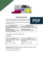 Teoria de Acidos y Bases-1