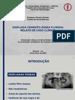 displasia cemento óssea florida