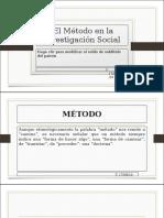 El método en la IS.odp