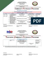 Teachers' Community Outreach Program 4 Printing