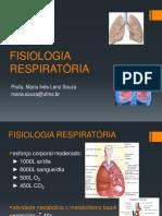 Resumo da fisiologia respiratória