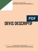 devis descriptif