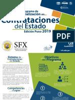 Programa de Especializacion en Contrataciones Del Estado Puno