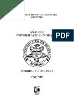 Analele Universităţii din Oradea, Seria Istorie-Arheologie 2009