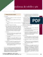 AAOS Patologia Tendineas de Tobillo y Pie