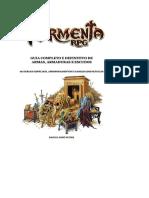 Tormenta RPG - Guia Completo e Definitivo de Armas, Armaduras e Escudos - Biblioteca Élfica