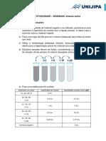 Pop-teste Artemia Salina