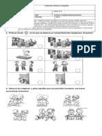 Evaluación Historia y Geografía Normas en La Sala