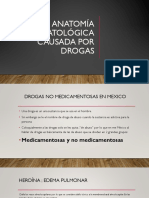 Anatomía Patológica Causada Por Drogas