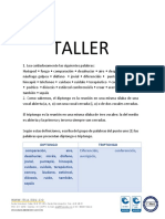 Taller División Silábica-juannarvaez