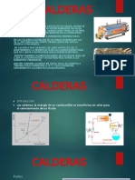 Unidad II Calderas