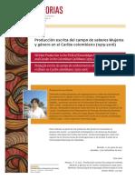 Produccion escrita del campo de saberes mujeres y genero.YSS.pdf