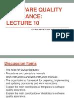SQA Lecture 10