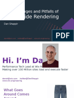 The Challenges and Pitfalls of Server-Side Rendering