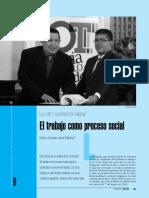 El trabajo como proceso social